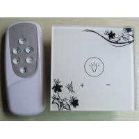 Quality 1 Gang Home Touch Screen Dimmer Switch 220V with RF Remote, 315/433Hz, AC110V-240V,LED backlight wholesale