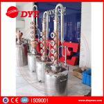 Quality 150L home alcohol distiller with 6 red copper stil column plates wholesale