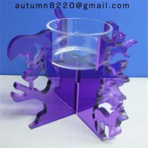 Quality CH (19) Wedding decoration crystal clear candelabra wholesale