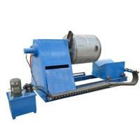 China Motor Power Roll Pipe Bending Machine With Hydraulic Double Head Decoiler on sale