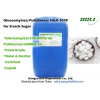 Cheap Stable Activity Glucoamylase Enzyme / Pullulanase Blended Enzyme For Starch Sugar for sale