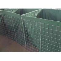 Quality Galvanized Welded Military Gabion Box Security Military Hesco Barrier With Sand wholesale