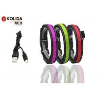 Quality Flashing Pet Waterproof Glow In The Dark Dog Collar Visible 300 Meters wholesale