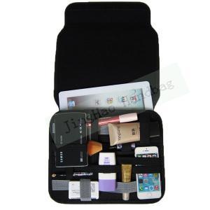 Quality Gadget Bag Organizer Travel , Double Layers Neoprene Electronic Organizer Bag wholesale