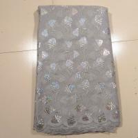 China Bridal African Embroidery Lace Fabric For Evening Dress on sale