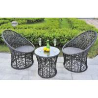 Quality Fashional All Weather Wicker Patio Furniture , Outdoor Patio Table And Chairs wholesale