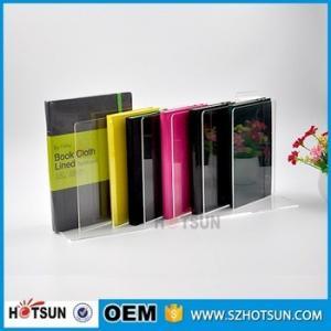 Cheap custom Acrylic Book/ Magazine/ Leaflet/ Literature Dispenser Holder for wholesale for sale