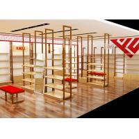 Quality Easy Install Shoe Display Cabinet Footwear With Stainless Steel Material wholesale