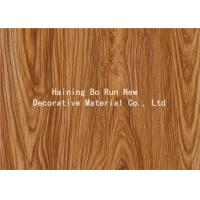 Quality PVC Decorative Foil Wood Grain Vinyl Wrap For PVC Ceiling Planks No Bubbles wholesale