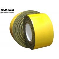 Quality Waterproof PE Anti Corrosive Tape Pipe / Anti Corrosion Inner Wrapping Tapes For Oil Gas Pipeline wholesale