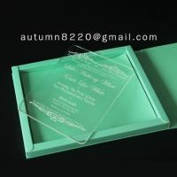 Quality B IC (9) deep impress wedding card wholesale
