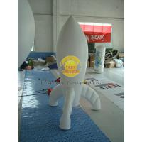 Quality Durable High quality 0.28mm PVC Advertising Customized Rocket Shaped Balloons for Opening Event PRO-10 wholesale