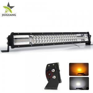 China Black / White Led Light Bar 4x4 Die Casting Aluminum Housing Material on sale