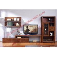 Cheap Classic Design Solid Wood Material TV Stand for Wall Unit in Living Room for sale