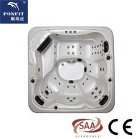 Quality ponfit 5 - 6 Persons (1 Lounges) hot tub spa with colorful acrylic wholesale