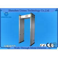 Quality 33/45 Zone Door Frame Metal Detector Gate , Walk Through Security Scanners 7 Inch LCD wholesale