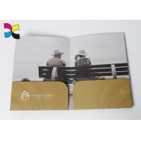 Quality Environment - Friendly Printed File Folders With Pockets ,  Luxurious Restaurant Bill Folder wholesale