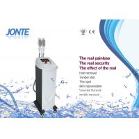 Quality 2 Handpieces IPL Beauty Machine For Skin Tightening 1 - 10Hz Frequency wholesale