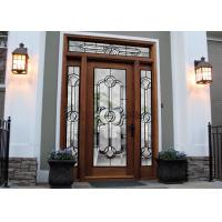 Cheap Tempered Safety Patterned Glass Panels Brilliance For Internal Doors for sale