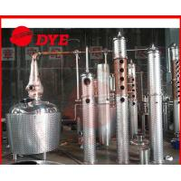 Quality 500Gal Small Alcohol Distiller machine , Vodka Distilling Equipment CE wholesale