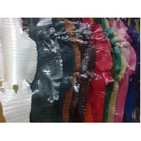 Quality Sell 2014 hotest designer fashionable real crocodile leather colourful handbag materials wholesale