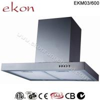 China CE CB SAA GS Approved 60cm Wall Mount Stainless Steel Range Hood on sale