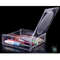 Quality clear acrylic makeup display organizer wholesale