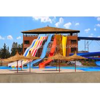 Buy cheap Customized Combination  Open  Rainbow Super Bowl Fiberglass Water Slide Spiral Slide from wholesalers