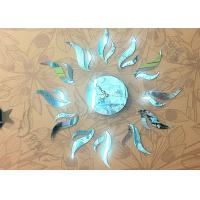 Quality Frameless Novelty Interior Decorative Mirror Wall Clock For Promotional Gift wholesale