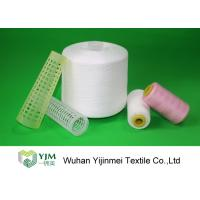 Quality 100% TFO Polyester Sewing Thread Dyeing Low Shrink And No Broken End wholesale