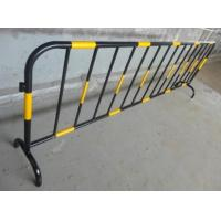 Quality Crowd Control Pedestrian Safety Barriers Aluminum Barricade Detachable Feet wholesale