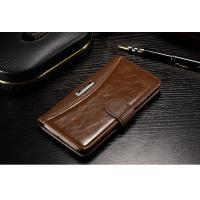 Quality Xiaomi Mi5 Cell Phone Leather Wallet Case Vintage Anti - Dirt For Drop Protection wholesale