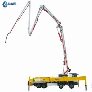 China HB58K Filling Height 1540mm XCMG 6 Section 58m Concrete Pump Truck on sale