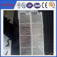 Big Diameter Extruded Aluminum Profile with mirror polish surface used in trailer