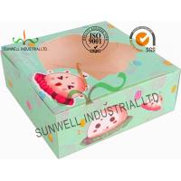 Quality Disposable Cardboard Food Packaging Boxes , Personalised Cardboard Takeaway Boxes wholesale