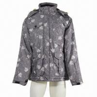 Quality Men's ski jacket, waterproof, breathable, fully seams taped, standard fit wholesale