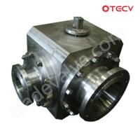 Quality ASTM A182 Ball Valve, Three-Way, 8 Inch TECV wholesale