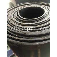 Quality Textile fiber reinforced rubber sheeting roll High tensile strength and wear resistance wholesale