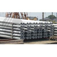 Quality Hollow pole Concrete Pole Steel Mould Concrete Pole Equipment dense and high strength wholesale