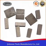 Quality Long Life 1600mm Diamond Segment Stone Cutting Segment Segmented Bond Tool wholesale