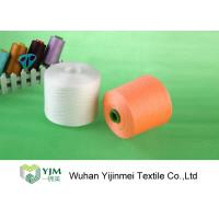 Cheap 22/2 Plastic Tube 100% Polyester Spun Yarn With Ring Spun / TFO Technics for sale