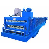 Quality Automatic PLC Frequency Control Double Layer Roofing Sheet Roll Forming Machine wholesale