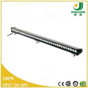 Quality 30 inch offroad truck high bright lamp single row Epistar 180 watt led light bar wholesale