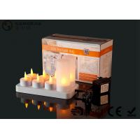 Quality 4set / 6set / 8set / 12set Rechargeable Tea Lights With Remote Control wholesale