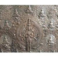 Quality 2.5m Height Bronze Relief Sculpture Ancient Casting Buddha For Indoor Decoration wholesale