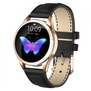 Quality Round Lady Style NRF 52832 Heart Rate Monitor Smartwatch wholesale