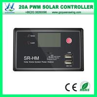 China 12V/24V 20A PWM Solar Charge Controller with 2 USB Port for Home Use (QWP-1420USBC) on sale