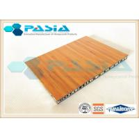 Quality Bamboo Pattern Veneer Honeycomb Composite Panels For Boat Building Abrasion - Proof wholesale