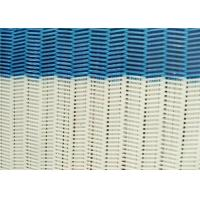Quality 100% Polyester Dryer Spiral Wire Mesh Screen With Large / Medium / Small Loop wholesale