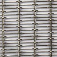 Quality Architecture Wire Mesh for Building Walls, with Good Tensile Strength, Made of Stainless Steel wholesale